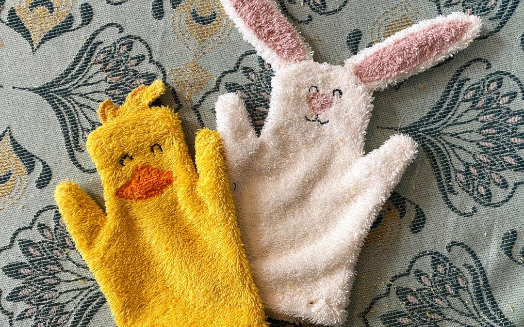 Washandjes maken voor pasen